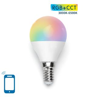 LED BULB G45 E14 5W WIFI RGB+CCT