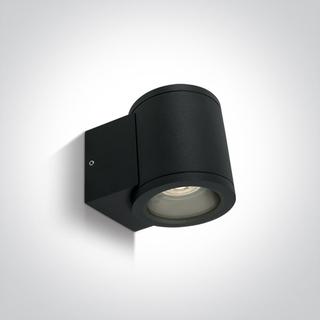 Lamp wall mounted Led black