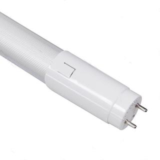 LED T8 18W 1.2M 120lm/W Half-aluminum plastic