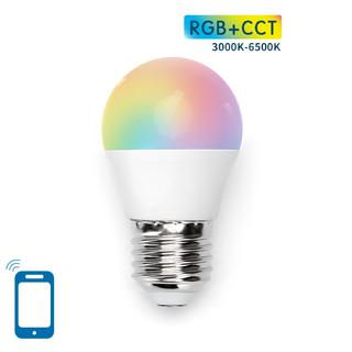 LED BULB G45 E27 7W WIFI RGB+CCT