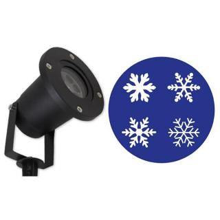 Projektor snowflakes